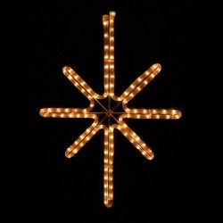 Esthajnal csillag 31x45cm fehér