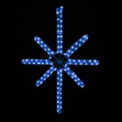 Esthajnal csillag 31x45cm kék