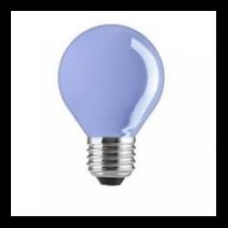 LED fényforrás E27 6 LED kék