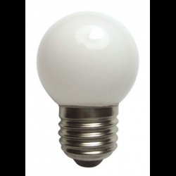 Fehér LED dekorációs fényforrás Party fényhez (E27)