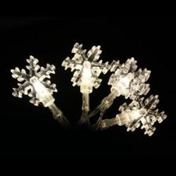 Elemes hópehely fényfüzér