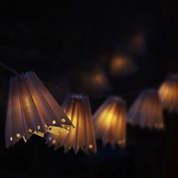Lámpaernyő fényfüzér
