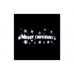 Karácsonyi kültéri LED projector - Merry Christmas felirat