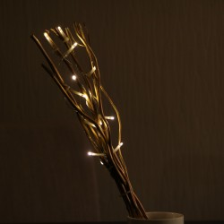 Elemes világító virgács