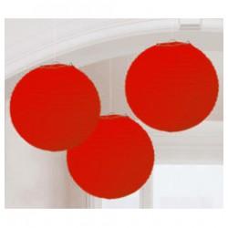 Organza lampion (piros)