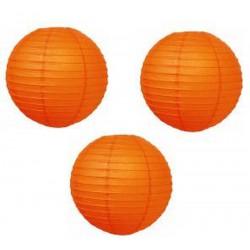 Organza lampion (narancssárga)