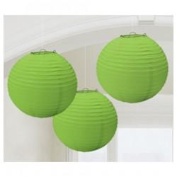 Organza lampion (zöld)