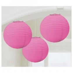 Organza lampion (rózsaszín)