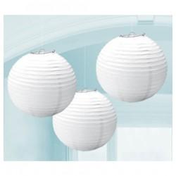 Organza lampion (törtfehér)