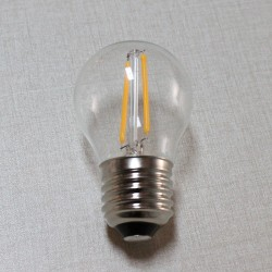LED dekorációs fényforrás Parti fényhez (E27)