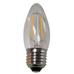 Filament LED dekorációs fényforrás Party fényhez (E27)