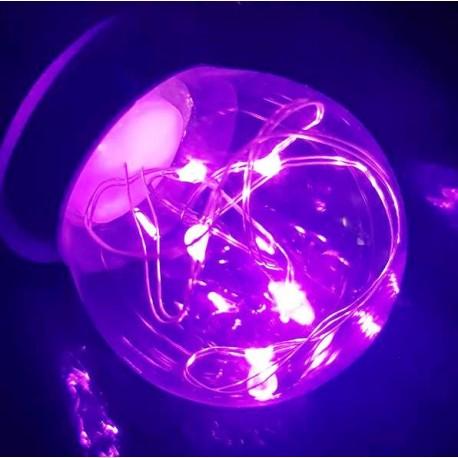Pink LED dekorációs fényforrás Parti fényhez (E27)