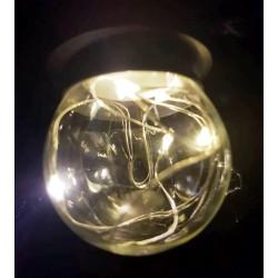 Melegfehér LED dekorációs fényforrás Parti fényhez (E27)
