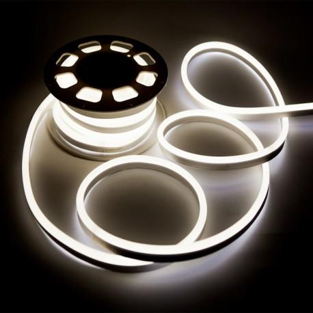 Fehér kétoldalas LED Neon Flex méterben