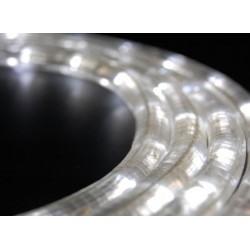 Fehér LED fénykábel 12m-es szett