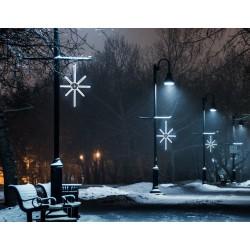 Esthajnal csillag 31x45cm fehér LED