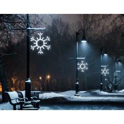 Nagy hópihe motívum 100cm fehér LED