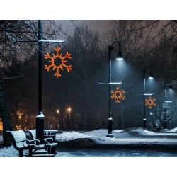 Nagy hópihe motívum 100cm amber LED
