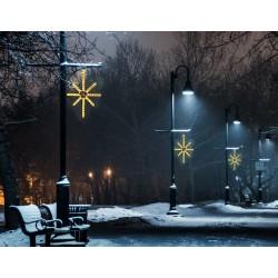 Esthajnal csillag 31x45cm meleg fehér LED