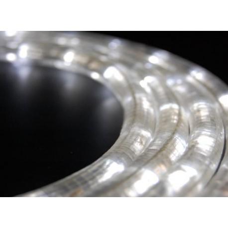 Fehér LED fénykábel méterben