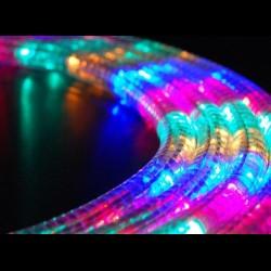 Szines LED fénykábel méterben