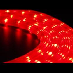 Piros fénykábel méterben