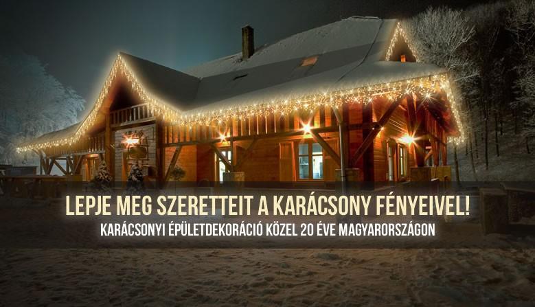 Karácsonyi Fénydekoráció, Épület dekoráció
